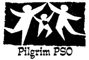 Pilgrim PSO logo dancing silhouette of dancing children