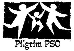 Pilgrim PSO logo dancing silhouette of dancing children