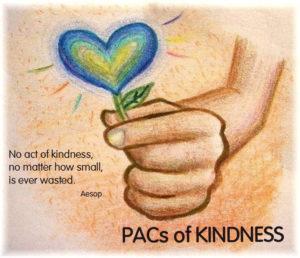 KINDNESS heart hand