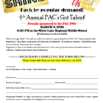 4th Annual PAC's Got Talent!  Sign Up Today!